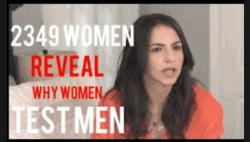 3 Reasons Women Test Men