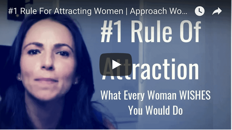 #1 rule for attracting women